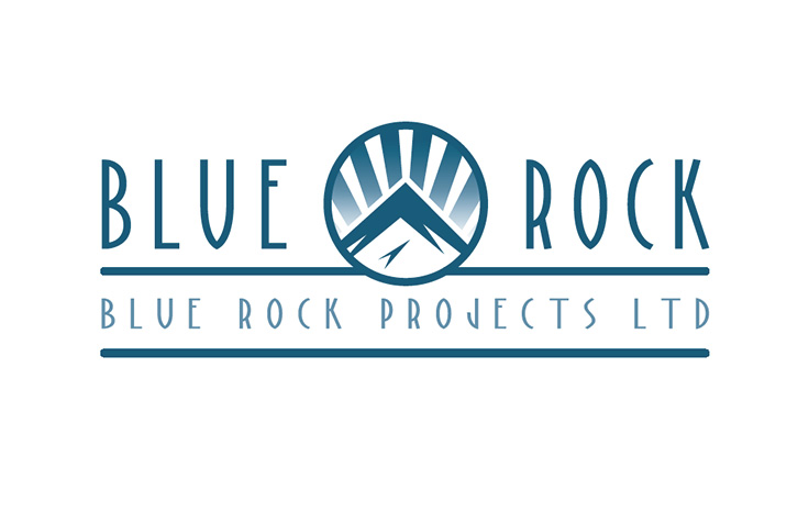 Logo Design & Branding Blue Rock Projects