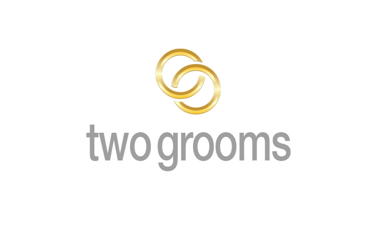 Logo Design & Branding Two Grooms
