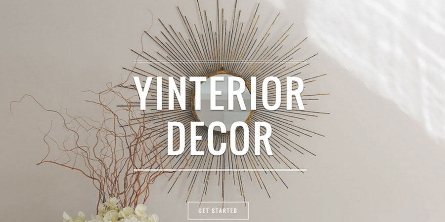 Yinterior Decor Interior Design Auckland web design