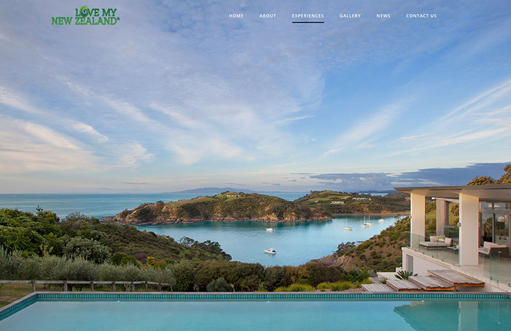 Tourism Web Design, Branding, Photography