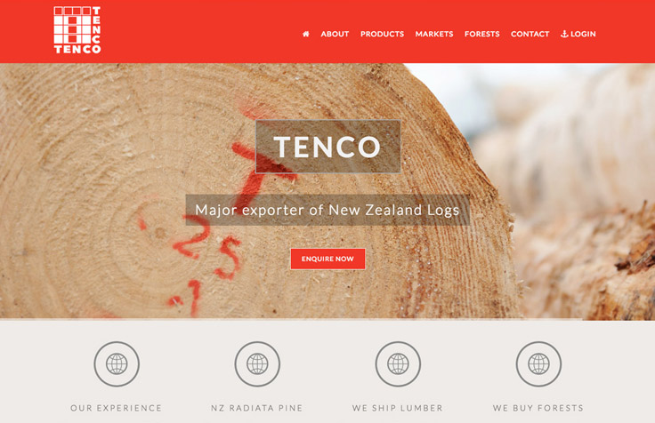 NZ Industrial Web Design, Branding, Photography