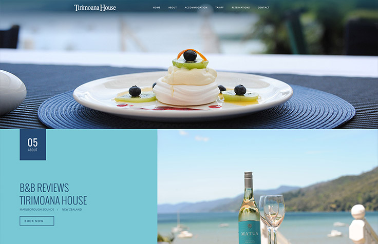 Hospitality Web Design, Branding & Photography